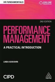Performance Management by Linda Ashdown