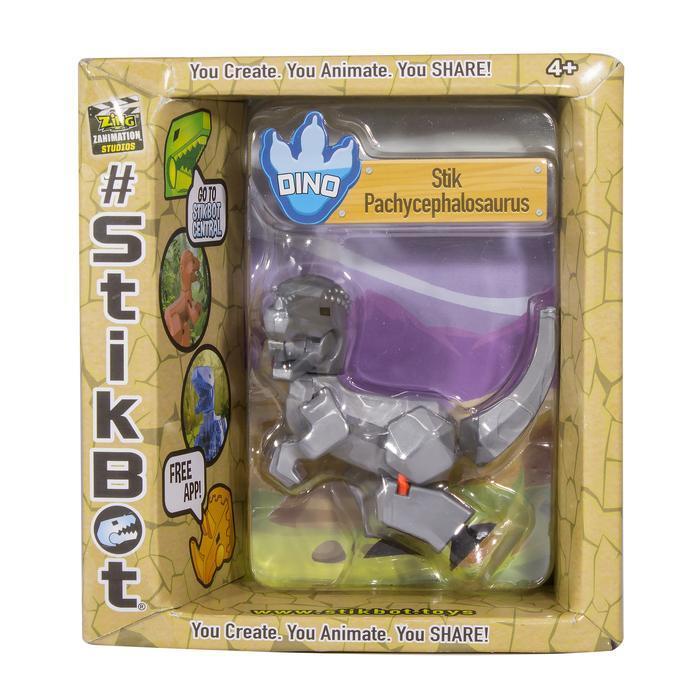 Stikbot: Dino Single - Pachycephalosaurus (Silver) image