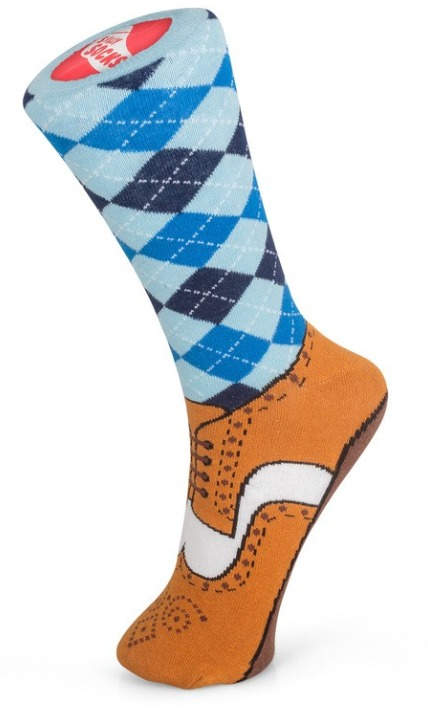 Silly Socks: Brogue - Unisex Socks (Size 5-11) image