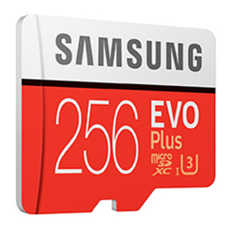 256GB Samsung EVO PLUS Micro SDXC with Adapter image
