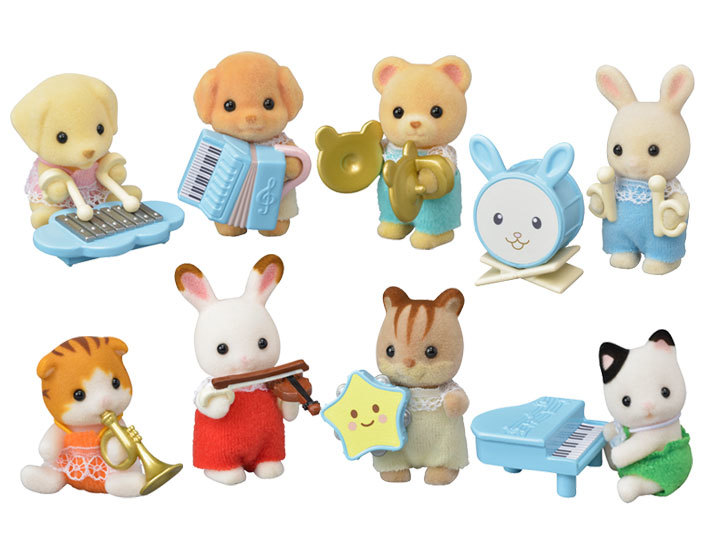 Sylvanian Families: Baby Band Mystery Figure - (Blind Bag) image