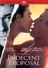 Indecent Proposal on DVD