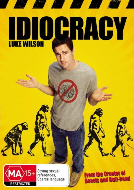 Idiocracy on DVD