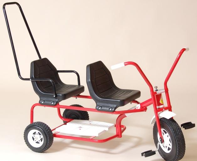 Tandem Trike - Red