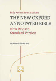 New Oxford Annotated Bible-NRSV image
