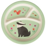 Woodland Friends - Kid's Plate