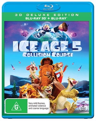 Ice Age 5: Collision Course - 3D Deluxe Edition on Blu-ray, 3D Blu-ray