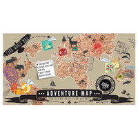 Adventure Map Cork World Map