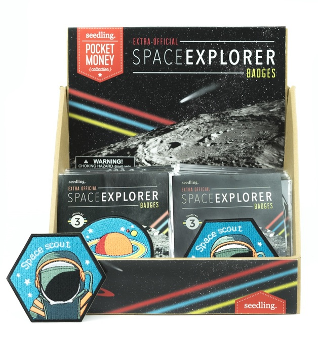 Seedling: Extra Official Space Explorer Badge