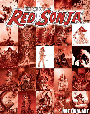 Art Of Red Sonja by Chris Lawrence