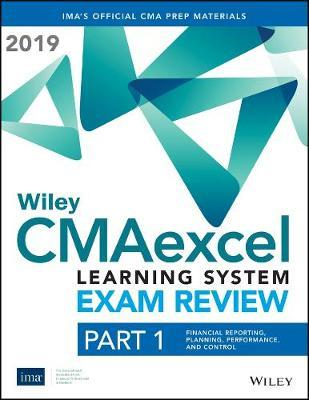 Wiley CMAexcel Learning System Exam Review 2020 by IMA image