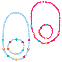 Pink Poppy: Sparkling Beads - Necklace & Bracelet Set (Assorted Colours)