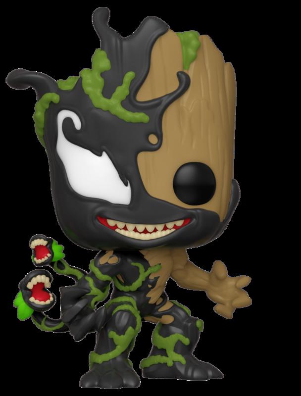 Marvel: Venomized Baby Groot - Pop! Vinyl Figure