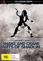 Snake and Crane - Arts of Shaolin on DVD