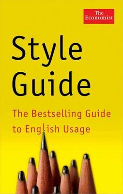 Economist Style Guide by The Economist image