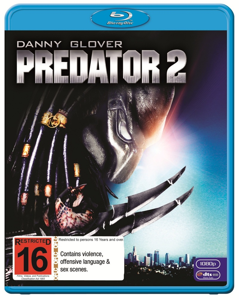 Predator 2 on Blu-ray image