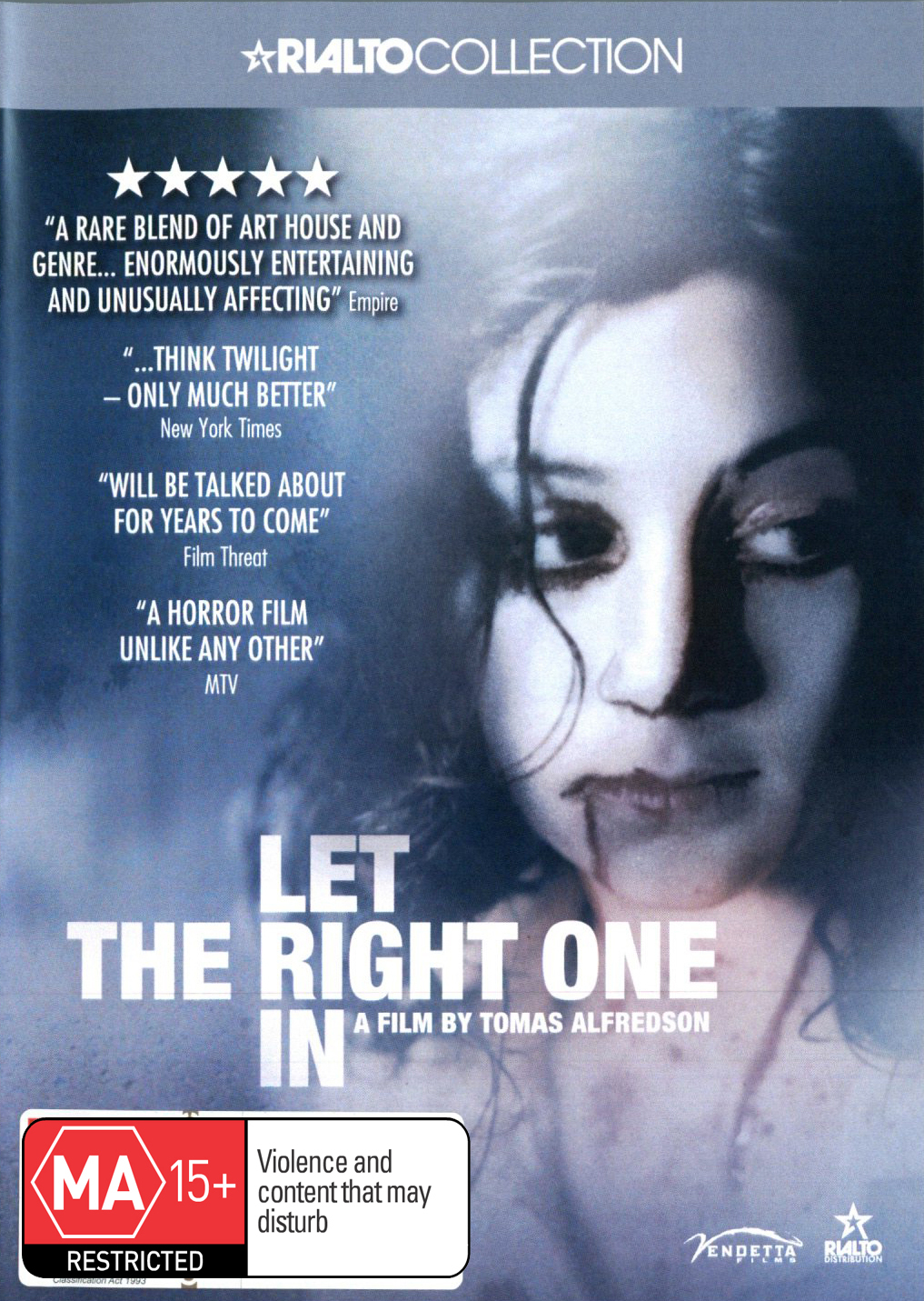 Let The Right One In on DVD image