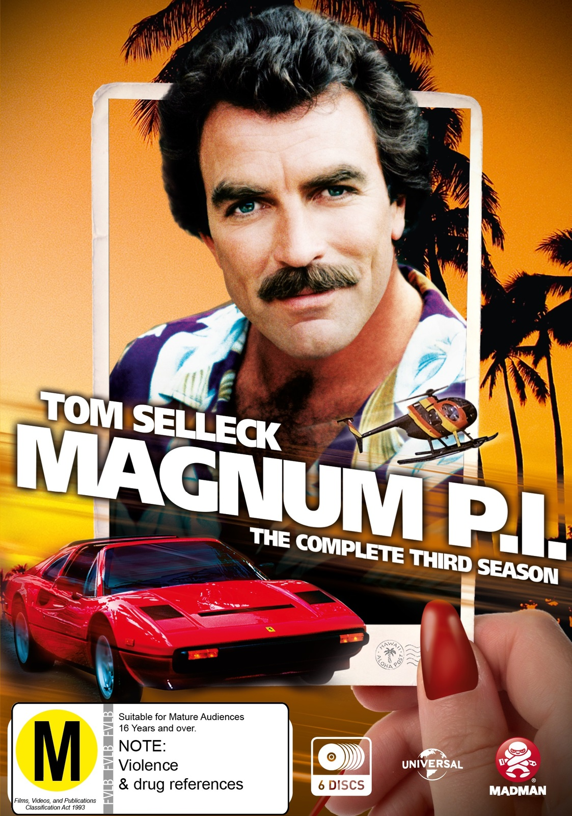 Magnum P I Season 3 Dvd In Stock Buy Now At Mighty
