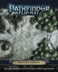 Pathfinder RPG: Winter Forest Flip-Mat