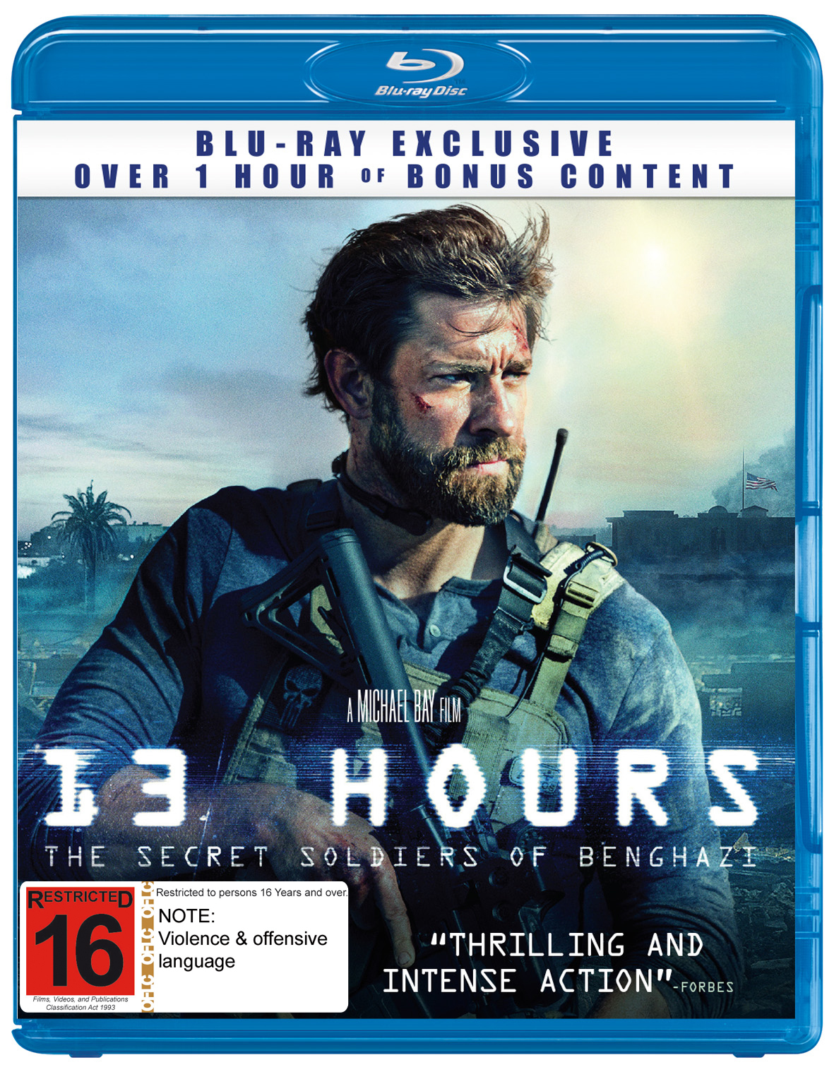 13 Hours: The Secret Soldiers Of Benghazi on Blu-ray image