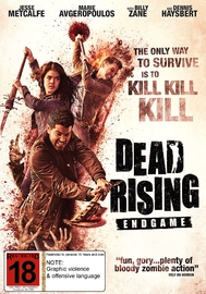Dead Rising: Endgame on DVD