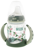 NUK: First Choice - Training Bottle 6 Months + (150ml) - Green/Birds