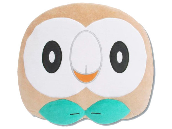 Pokemon: Mochi-Fuwa Cushion (Rowlet Face)
