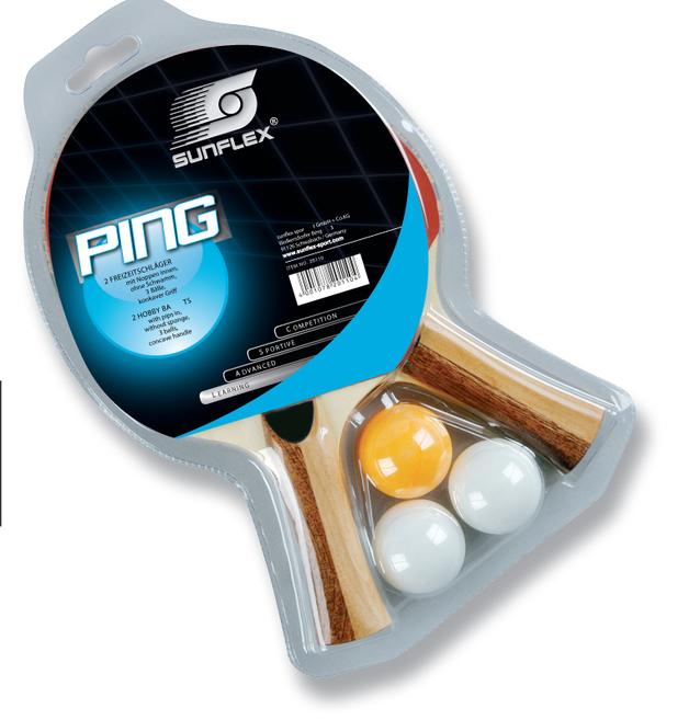 Sunflex: PING - Table Tennis Set (20110)