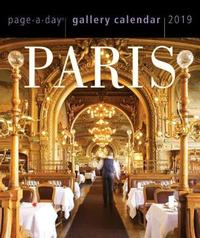 2019 Paris Page-A-Day Gallery Calendar by Workman Publishing