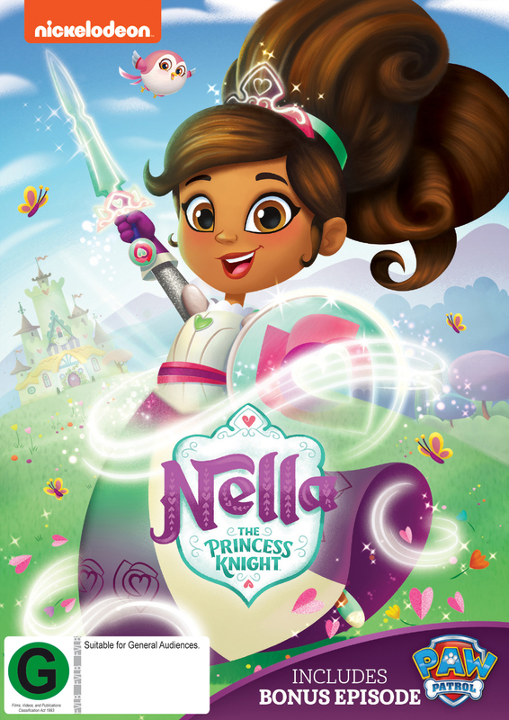 Nella: The Princess Knight on DVD