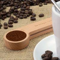 Bar Amigos: Wooden Coffee Scoop and Bag Clip image