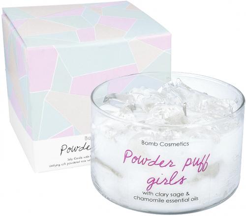 Bomb Cosmetics: Powder Puff Girls Jelly Candle