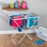 InterDesign Brezio Expandable Shelf Clothes Airer