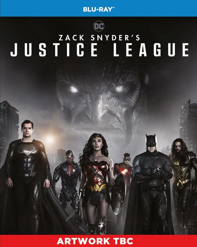 Zack Snyder's Justice League on Blu-ray