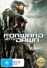 Halo 4: Forward Unto Dawn on DVD