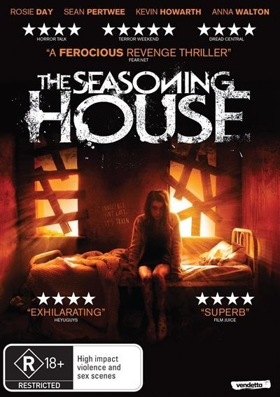 The Seasoning House on DVD image