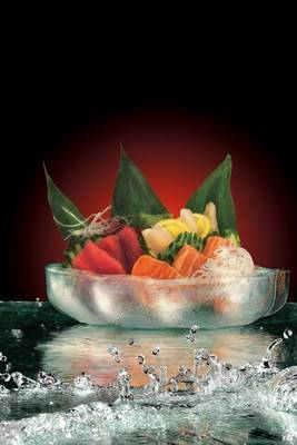 Sashimi on Ice with Water Journal by Cool Image image
