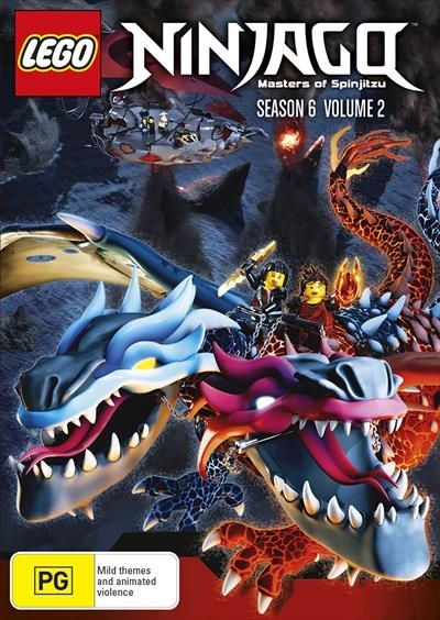 Lego Ninjago - Season 6 (Vol. 2) on DVD image