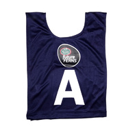 Mother Earth futureFERNS Netball Year 5&6 Bibs (Navy)