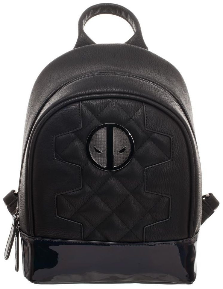 Deadpool: Metallic Quilted - Mini Backpack image