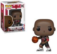 NBA: Bulls - Michael Jordan (Black Uniform) Pop! Vinyl Figure image