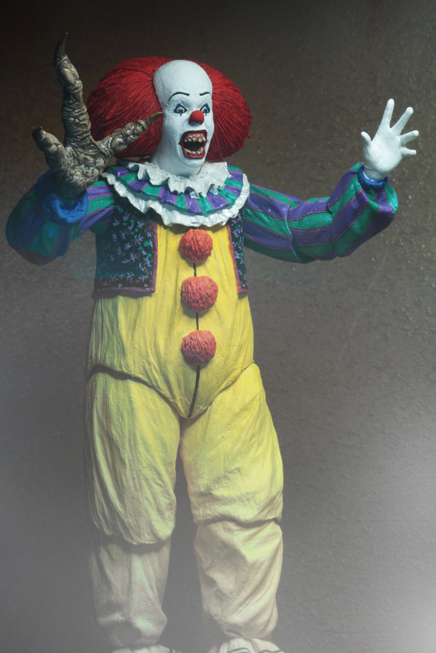 IT (1990): Pennywise - 7″ Ultimate Action Figure image