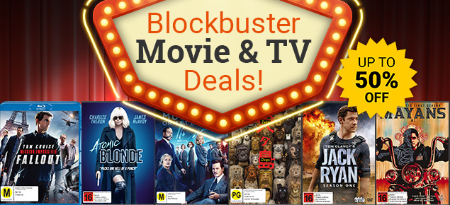 Blockbuster Movie & TV Deals! Save up to 50% off!