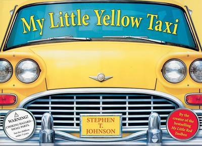 My Little Yellow Taxi by Stephen T Johnson image