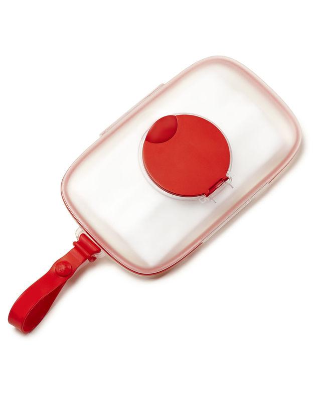 Skip Hop: Grab & Go Snug Seal Wipes Case - Red