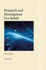 Research and Development Tax Reliefs by Maria Kitt