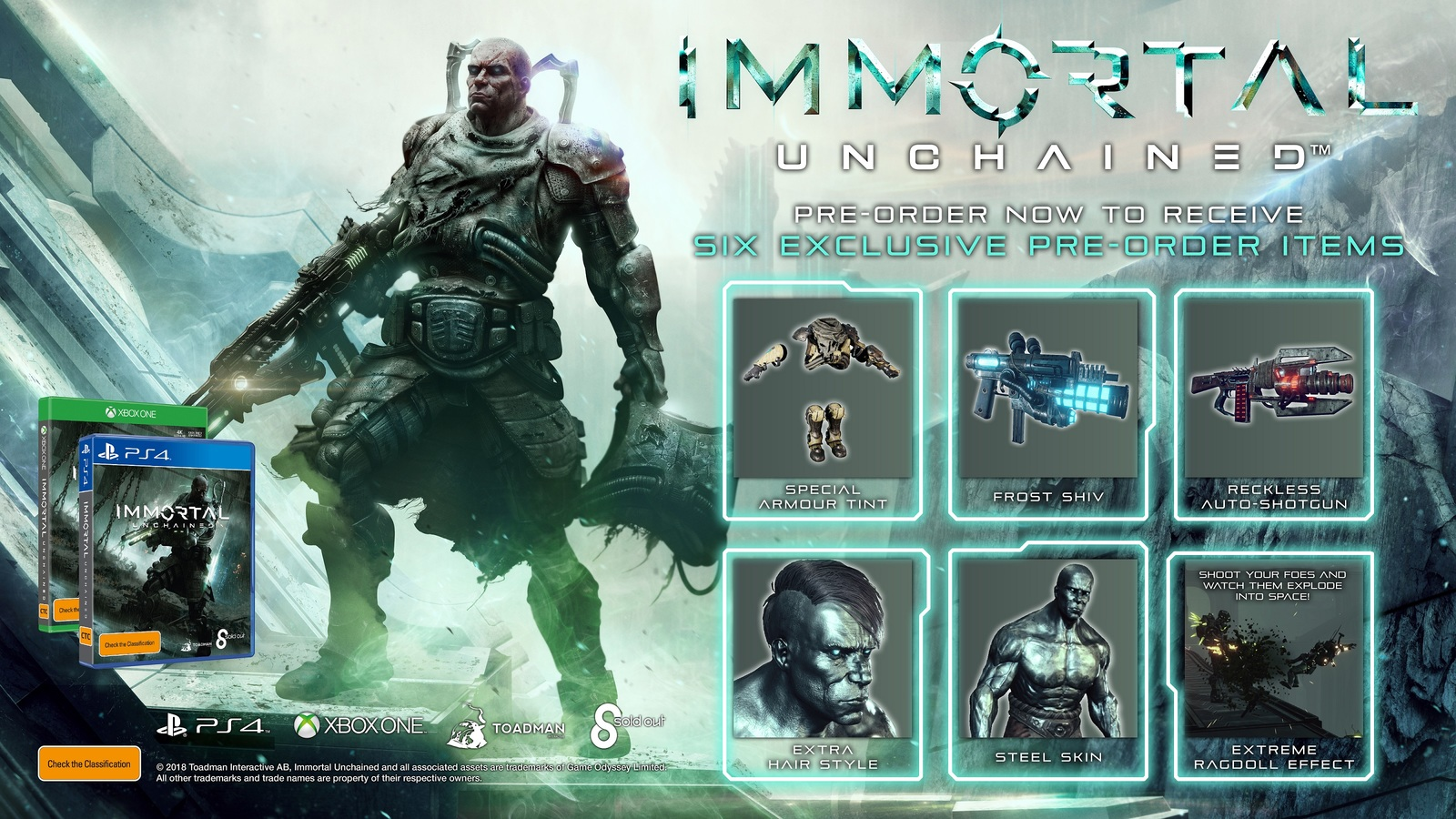Immortal: Unchained for PS4 image