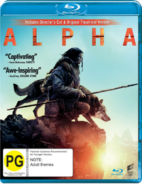 Alpha on Blu-ray