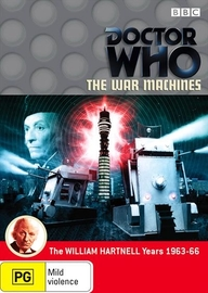 Doctor Who: The War Machines on DVD