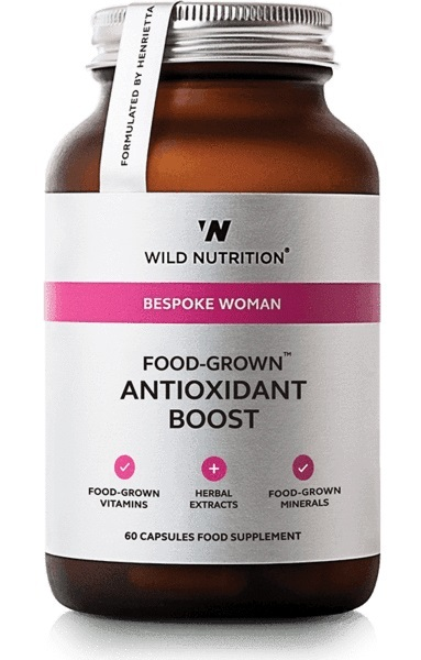 Wild Nutrition Food Grown Womans Antioxidant Boost (60 Caps)